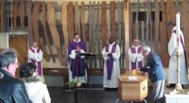 Loverval : Pastorale et liturgie des funérailles