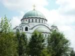 Cathédrale orthodoxe de Belgrade (Serbie)