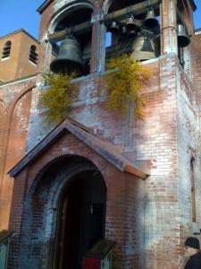 Nouvelles cloches pour le Monastère de Chevetogne (26 mars 2011)