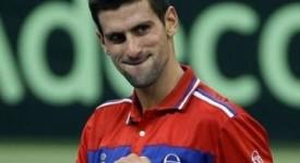 Novak Djokovic  offre 100.000 euros au monastère de Gracanica