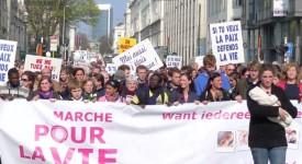 Marche pour la vie: 3.000 personnes pour rouvrir le débat sur l'avortement