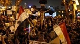Des centaines d'Egyptiens manifestent contre le sectarisme