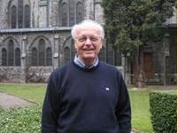 Maredsous: le Frère Jean-Daniel reçoit les candidats à la vie de monastique