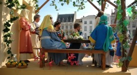 Une procession de longue tradition : La Procession d'Hanswijk à Malines
