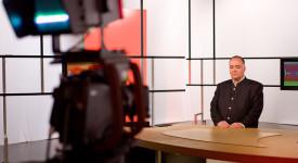 Photos des coulisses de l'émission «Il était une foi…» TV (RadioTélé)