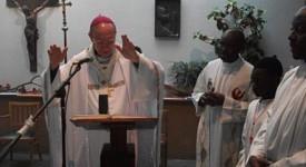 Mgr Léonard a rencontré la communauté congolaise «famille chrétienne»