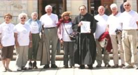 Des pèlerins belges sur les routes de Medjugorje