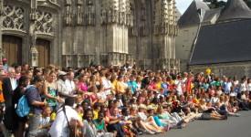 L'ultime étape pour les jmjistes belges à Tours