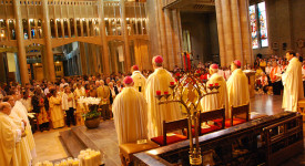 L'Archidiocèse de Malines-Bruxelles consacré au Sacré Cœur de Jésus