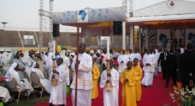 Evocation du voyage papal au Bénin