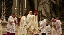 Les messes exemplaires de Benoît XVI