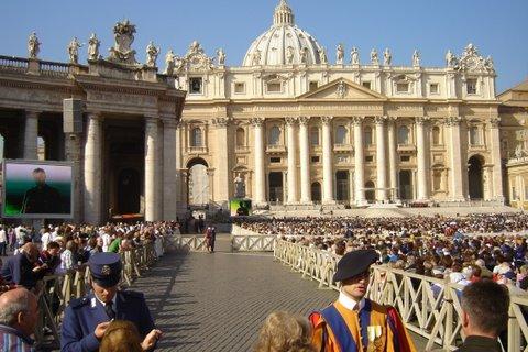 Rome - place St-Pierre