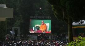 Le Dalaï-Lama à Huy: un océan de sagesse