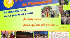 Succès pour la session de l'Emmanuel Beauraing 2012