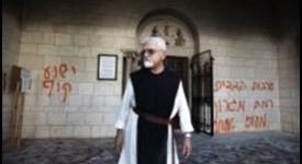 Israël : l'abbaye de Latroun vandalisée