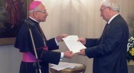 Nomination du chanoine Quintiens comme chapelain du pape