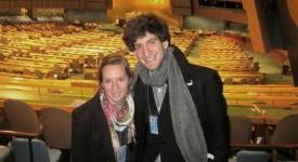 2 jeunes Belges vont «redresser les bretelles» des membres de l'ONU