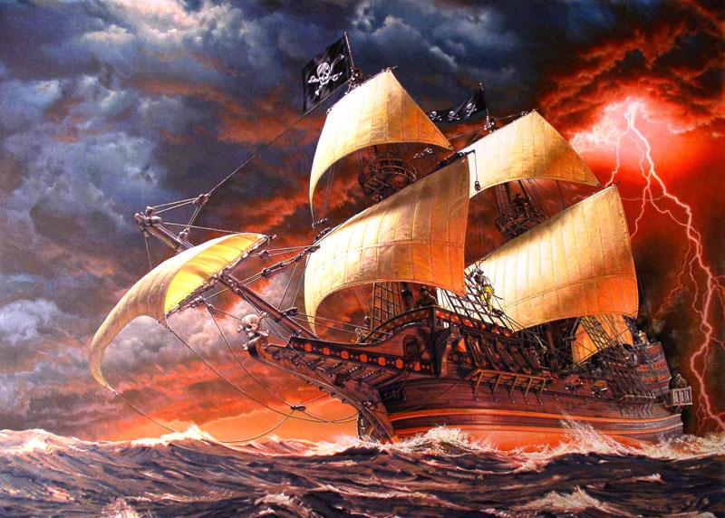 bateau pirate wallpaper - photo #39