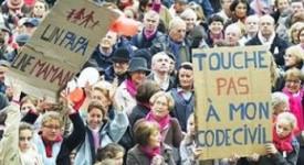 France : vaste mobilisation en faveur de la famille