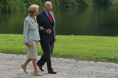roi Albert et reine Paola (c) SPF chancellerie Premier ministre