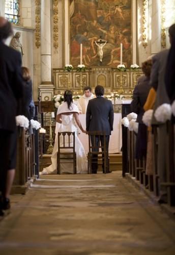 Mariage dans une église