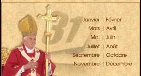 Le Vatican revoit le calendrier de Benoît XVI