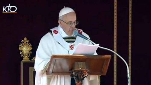 Pape François Messe (KTO)