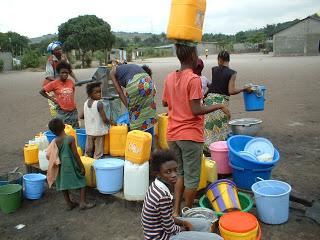 collecte d'eau en Afrique
