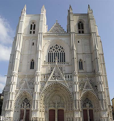 Nantes - cathedrale St-Pierre