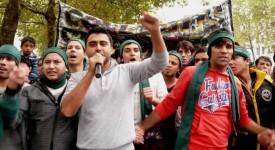 Les Afghans du Béguinage : Ils évacuent