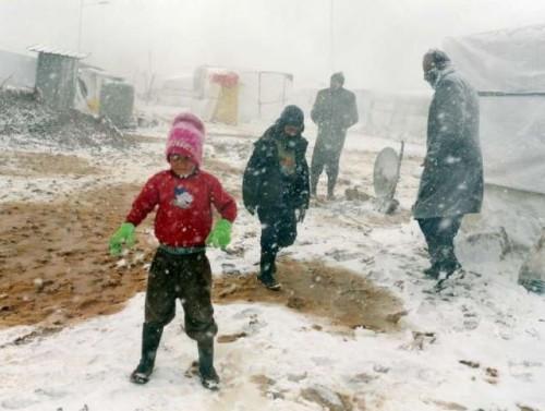 Syrie-refugiés-Hiver