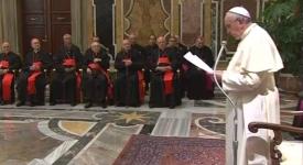 Réforme de la Curie : mise au point du pape François