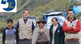 Iles de Paix : deux jeunes Belges remontent la Cordillère des Andes à vélo