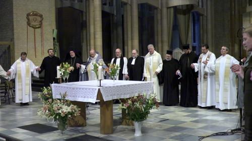 Veillée de prière à la Basilique de Koekelberg contre l'euthanasie des enfants