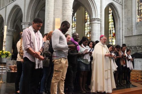 accueil baptises Mgr Kockerols6
