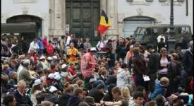 Les jeunes Belges à Rome, avec Jean-Paul II et Jean XXIII