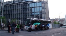 70 jeunes Belges en partance pour Rome