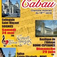 affiche concert Cabau