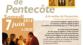 La Vigile de Pentecôte, le 7 juin à la Cathédrale de Tournai
