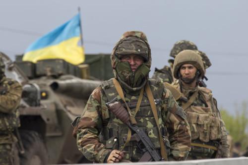 Soladt Ukraine