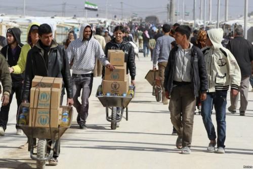 Refugies Syrie