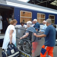SNCF train Lourdes