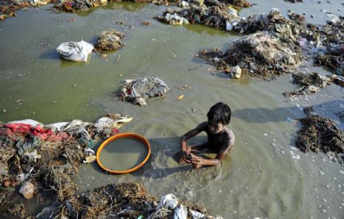 pollution Gange