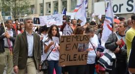 Marche interreligieuse pour la paix à Malines