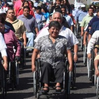 personnes handicapees Mexique‏