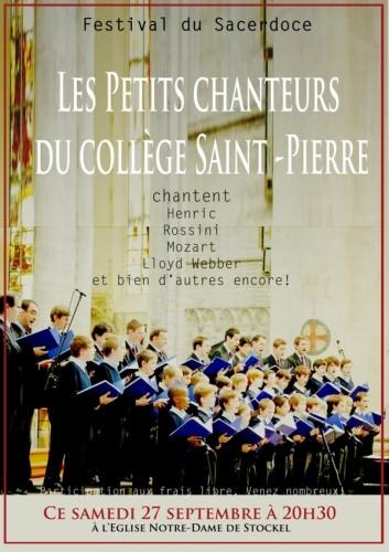 Concert 27-9-2014 in Festival du Sacerdoce