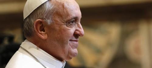 pape Francois profil