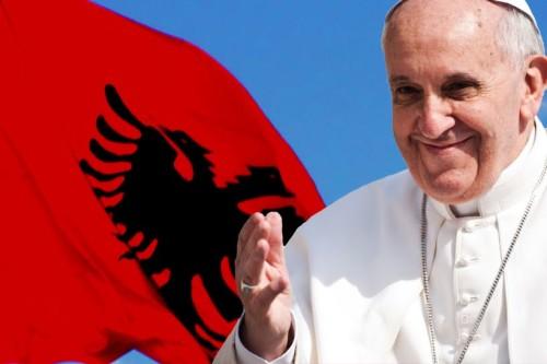 pape et albanie