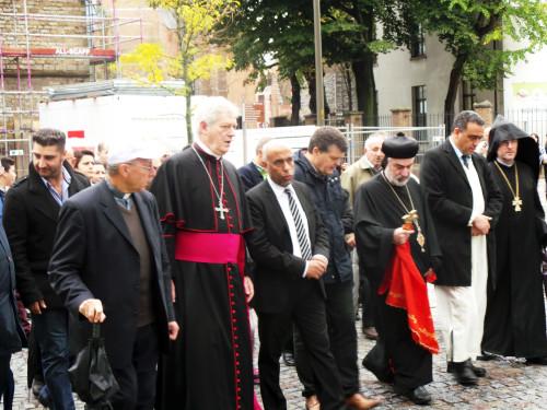 Christenen en moslims samen voor vrede