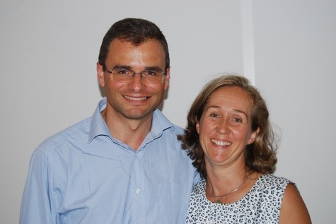 Olivier et Xristilla Roussy (c) la Croix
